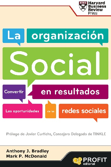 La organización social portada