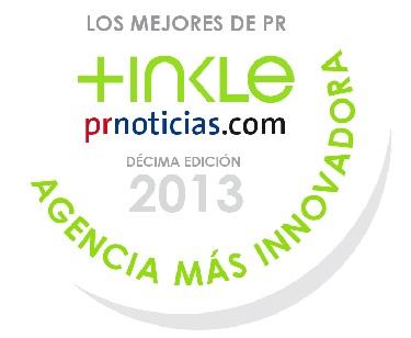 Tinkle gana premio en Lo mejor de PRNoticias