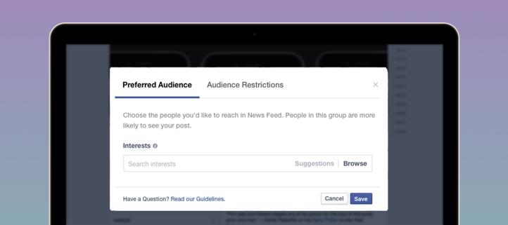 Sobre Facebook, su herramienta de segmentación y la especialización del contenido