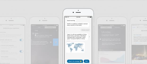 La nueva app Quartz quiere que chatees con las noticias