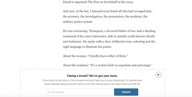 Las soluciones del Washington Post para que puedas leer formatos largos