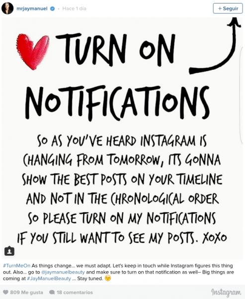 Instagram: contra la tiranía del algoritmo, crear mejores contenidos