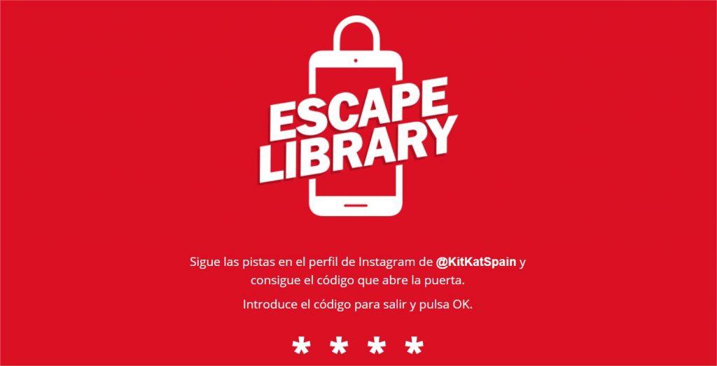 kit kat escape library